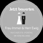 Die Trauung bei Frau Immer & Herr Ewig