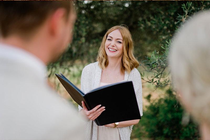 Hochzeitsrednerin Anne