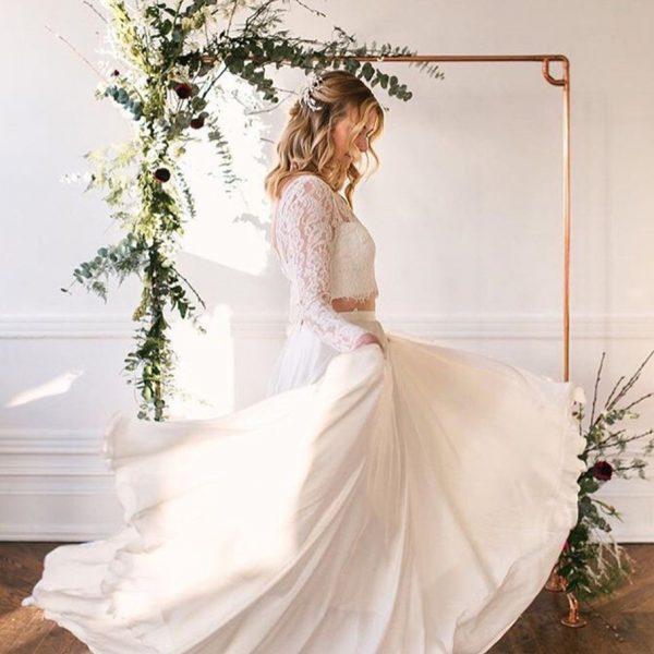 Kupferständer als Fotobooth - Hochzeit