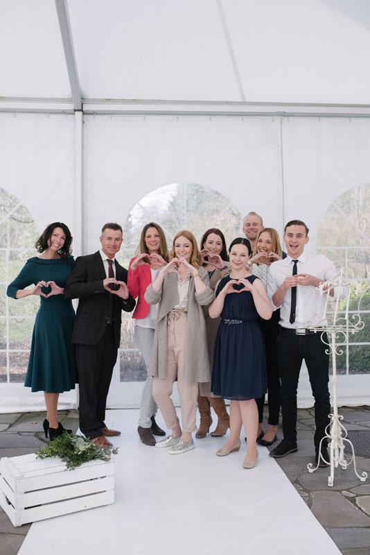 Gruppenfoto des 1. Redner-Workshops