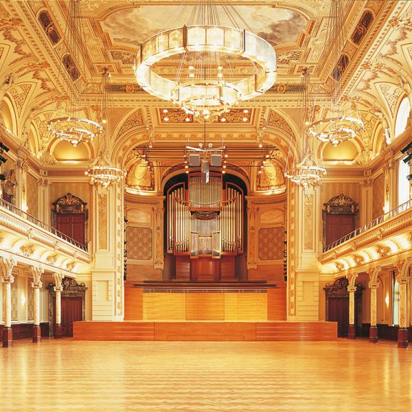 Großer Saal der Stadthalle