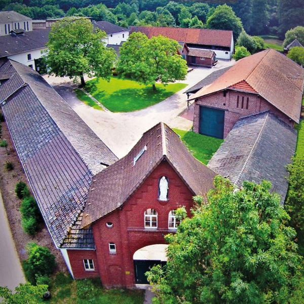Luftbild Kluturhof Knechtsteden