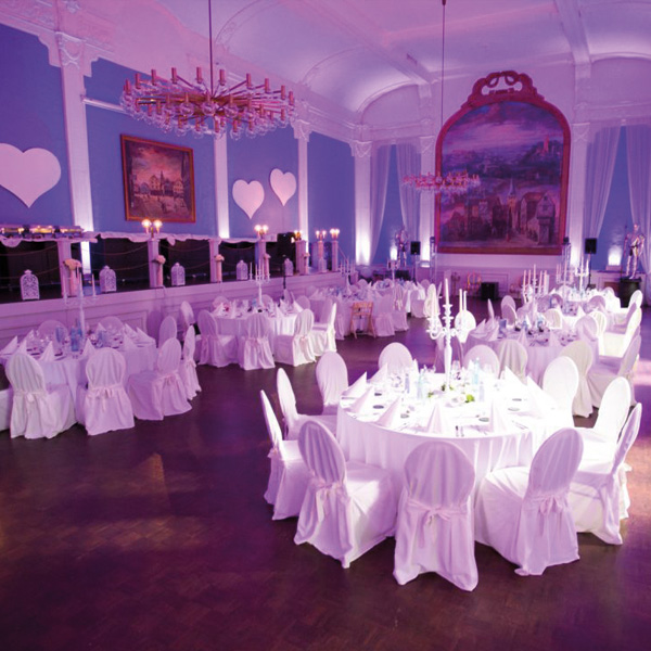 Festsaal der Schulenburg für Hochzeiten
