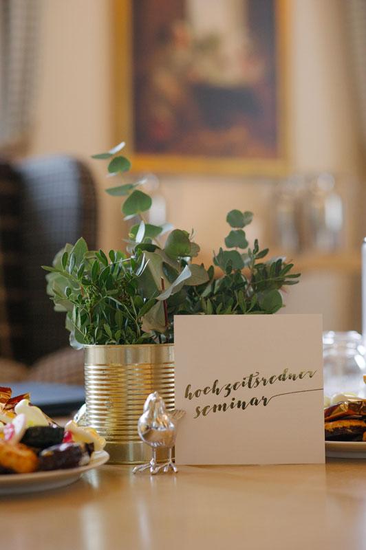 Flyer Hochzeitsredner-Seminar