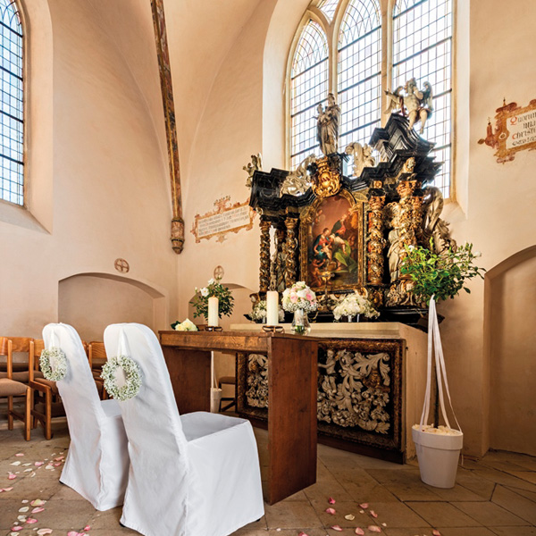 Trauung in entweihter Kapelle