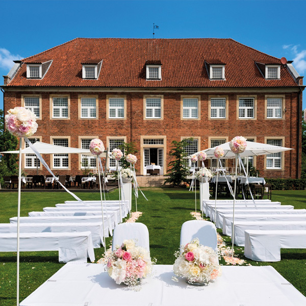Hochzeit in der Orangerie