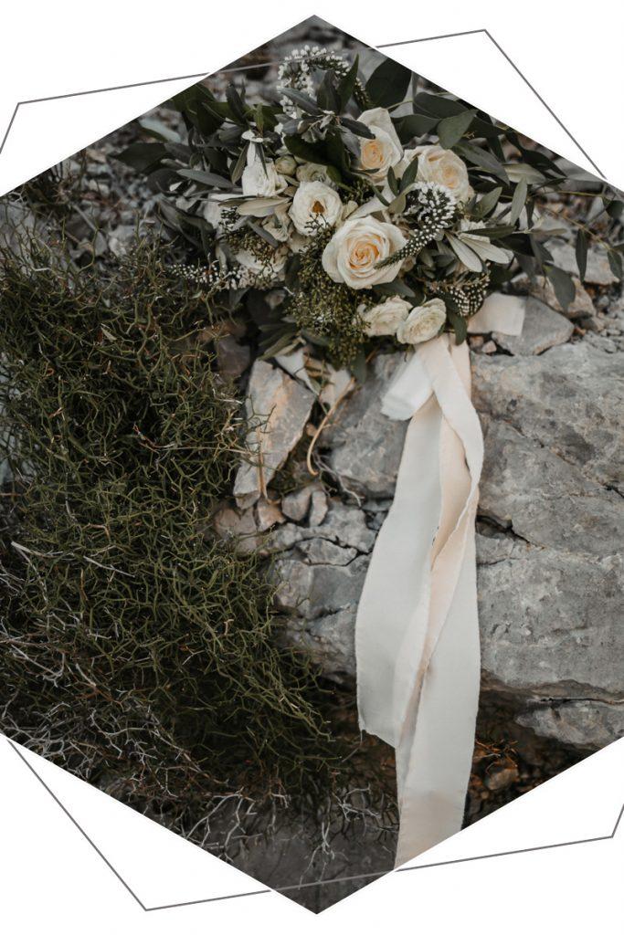 Brautstrauß bei Paarshooting