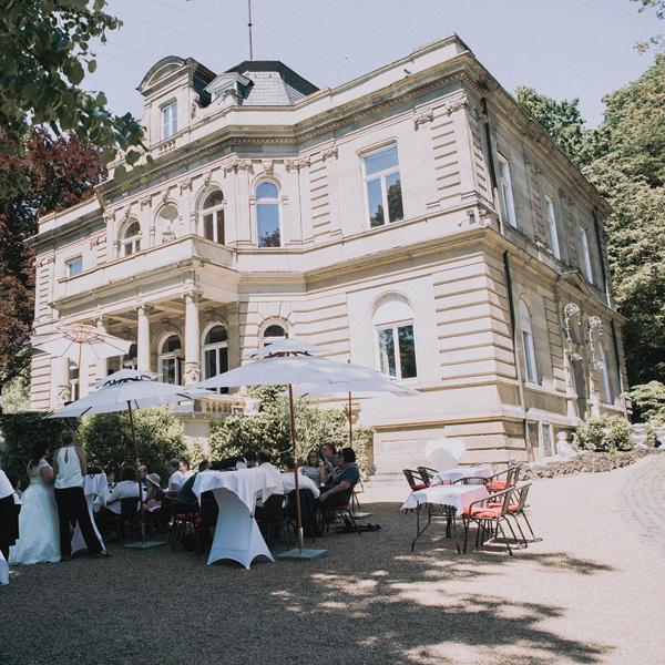 Hochzeit feiern in der Villa Kalles