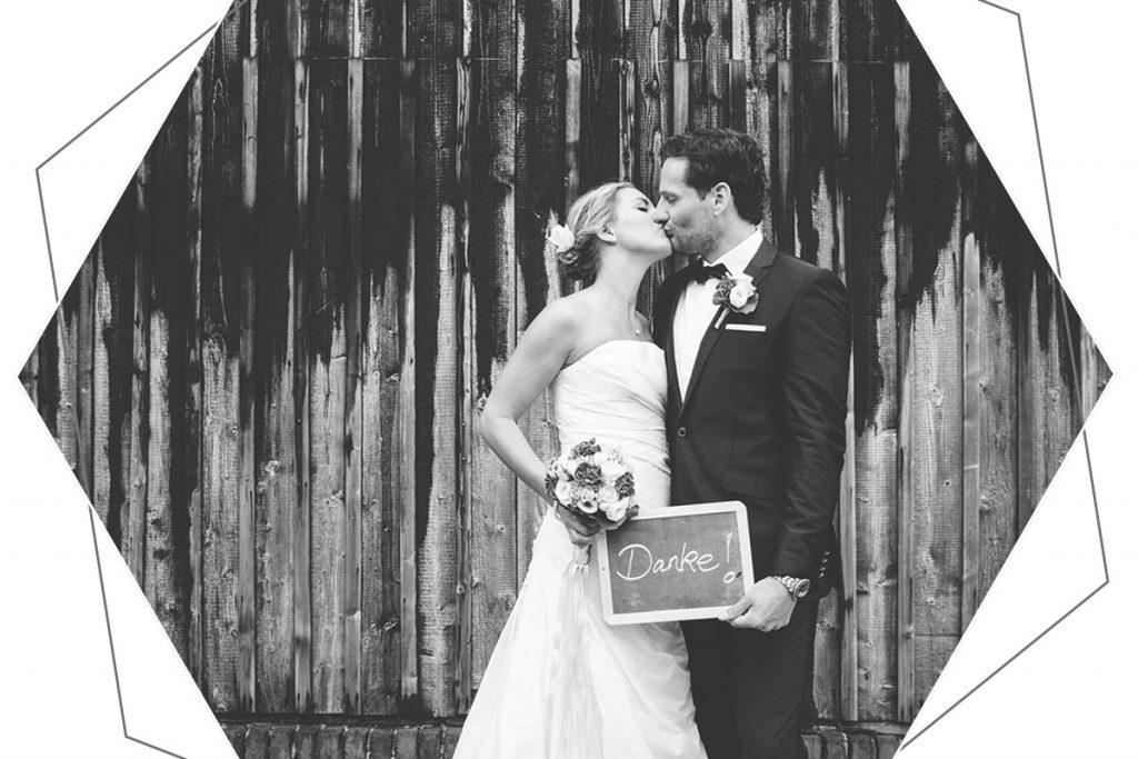 Hochzeit in einer Scheune